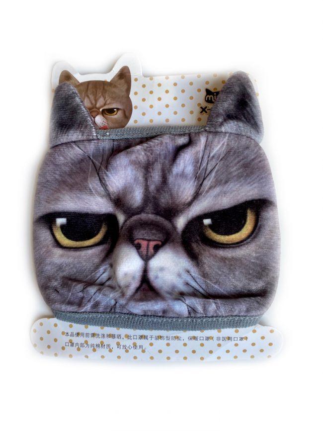 Grumpy Cat Face Mask