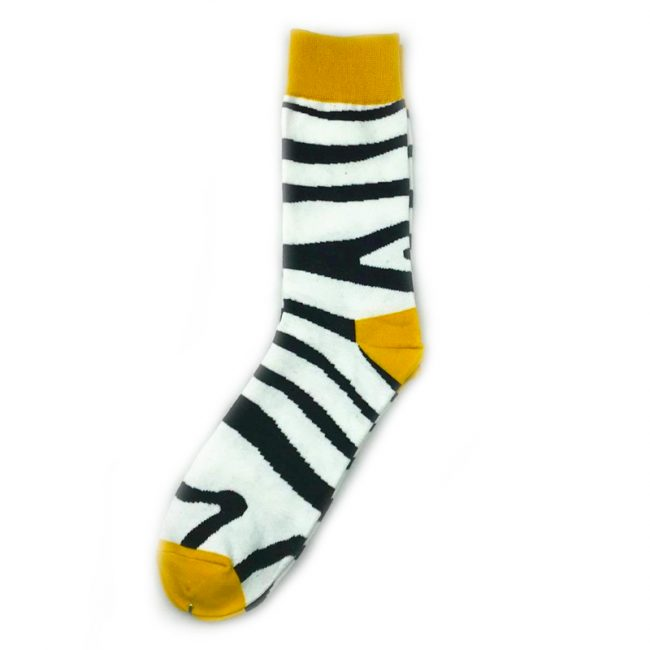 Zebra Stripes Socks