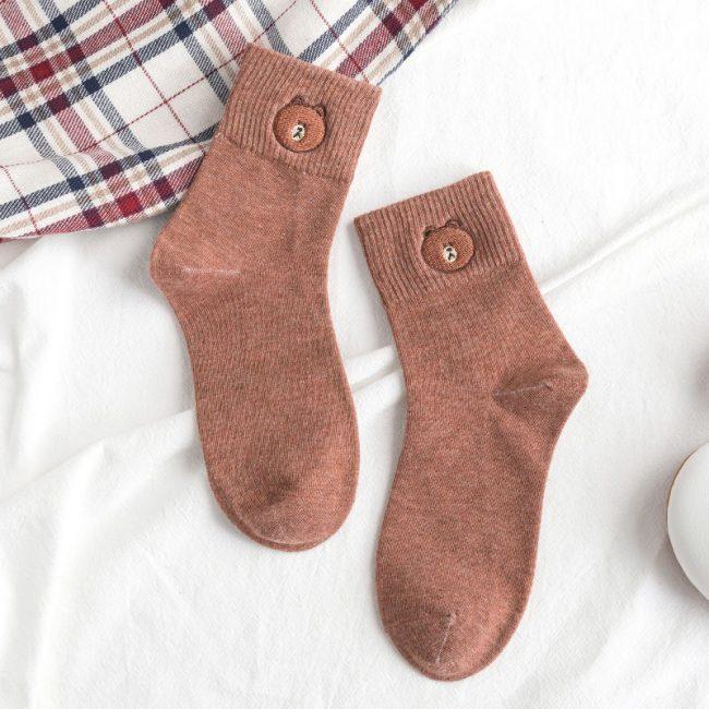Brown Bear Socks