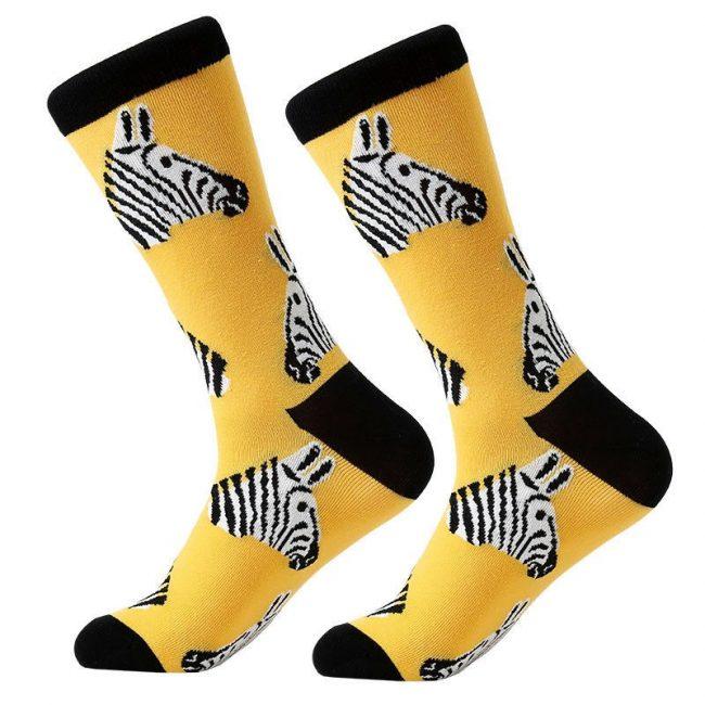 Zebra Theme Socks